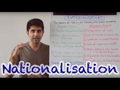 Y2/IB 29) Nationalisation