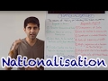 Y2 31) Nationalisation