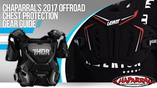 2017 Off-Road Motorcycle Chest Protection Gear Guide at ChapMoto.com