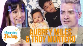 Aubrey and Troy on having their dream baby | Magandang Buhay