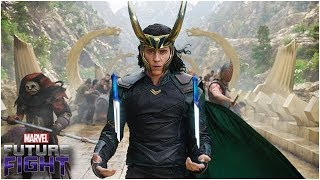 Mythic Loki Uniform? New Build! (Skill Rotation, Gear) - Marvel Future Fight