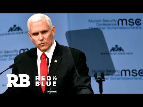 Pence criticizes Iran, NATO at Munich Security Conference
