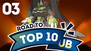 Pokemon Showdown Road to Top Ten: Pokemon Sun & Moon Ubers w/ PokeaimMD #3