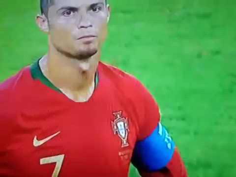 4ec89c815 Ronaldo red (chance)Iran vs portugul world cup 2018 - YouTube