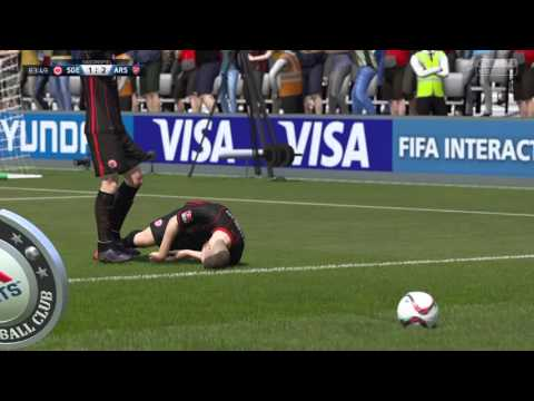 Haris Seferovic Traumtor Fifa16 PS4 SGE Eintracht Frankfurt
