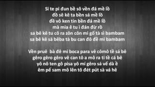 Despacito phiên âm Tiếng Việt | Luis Fonsi ft Daddy yankee |