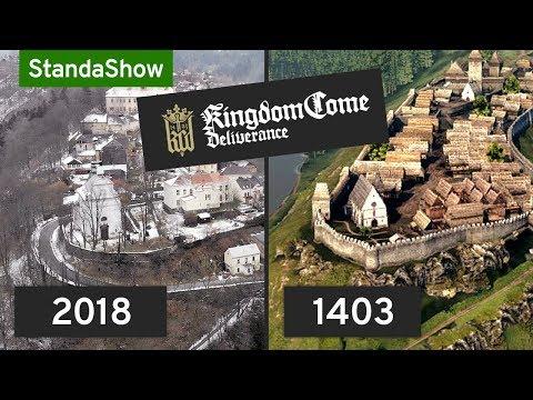 SROVNÁNÍ: hra vs. skutečnost. Česká vesnice v Kingdom Come: Deliverance