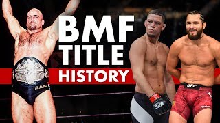 The BMF Title's Deep Roots In MMA History
