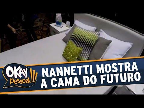 Okay Pessoal!!! (11/04/16) - Junior Nannetti Mostra A Cama Do Futuro