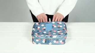 Cherishely Portable Travel Makeup Waterproof Storage Bag