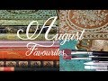 AUGUST FAVOURITES 2018 - Paperblanks notebooks,  books and brushes    Merveilles en Papier