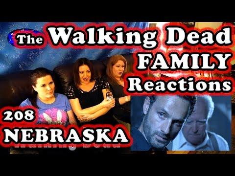 The Walking Dead | FAMILY Reactions | NEBRASKA | 208
