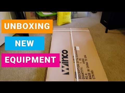Soap Making Equipment - Unboxing Bakers Rack For Soap Studio Curing Bath Bombs And Soap