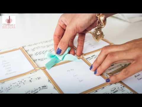 Tableau mariage tema musica
