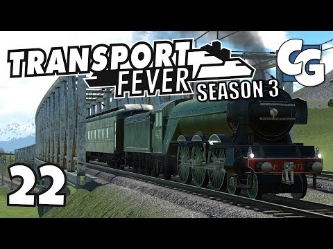 Transport Fever - S03E22 - Performance Patch Beta (Build 15080) - Transport Fever Let's Play