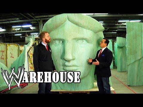 "National Treasures Hidden Inside The ""WWE Warehouse"" - Ep. #4"