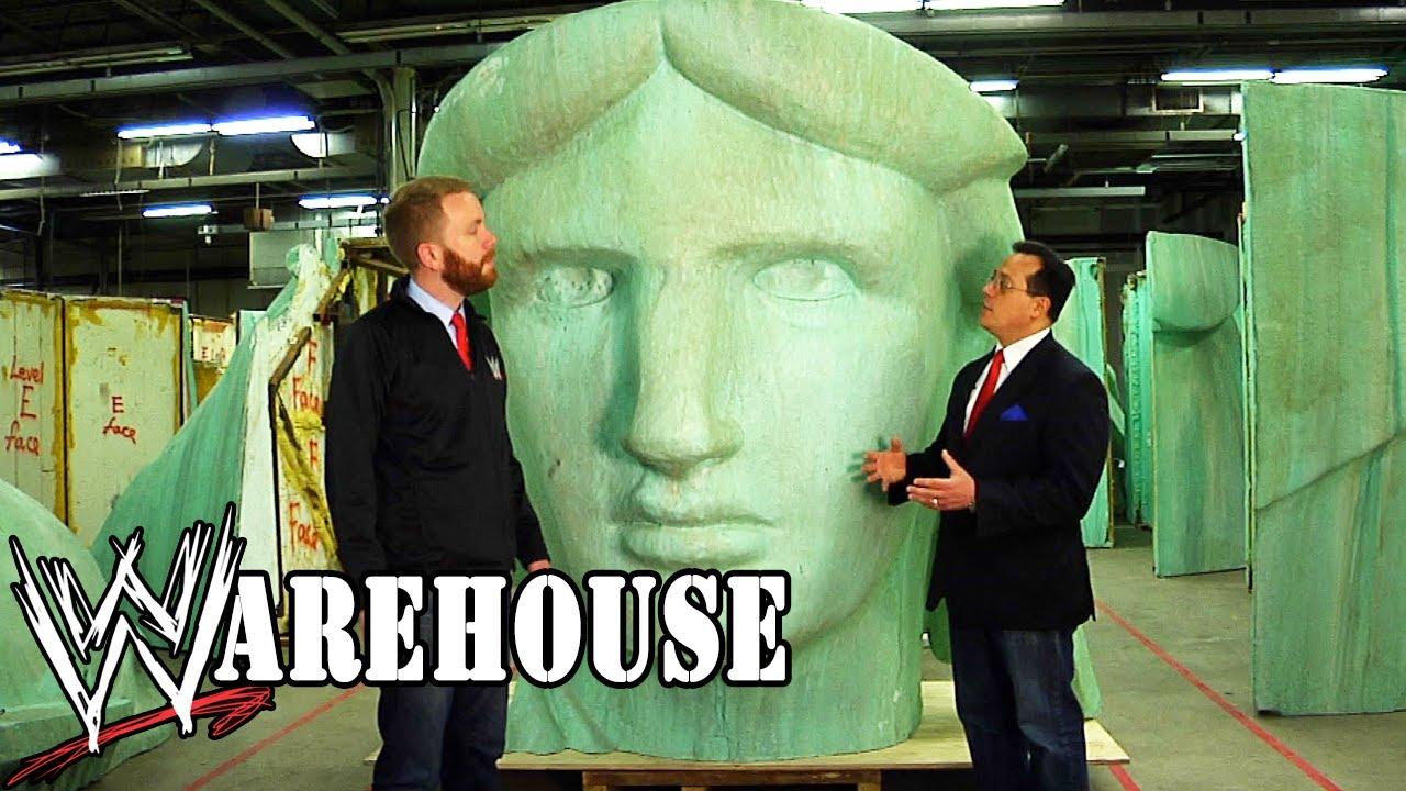 "Download National Treasures Hidden Inside The ""WWE Warehouse"" - Ep. #4"