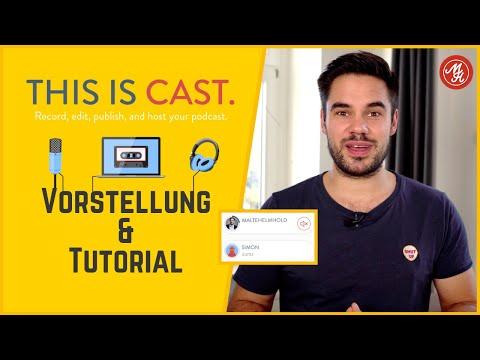 Podcasting über Distanz - Vorstellung & Tutorial von Cast (tryca.st) thumbnail