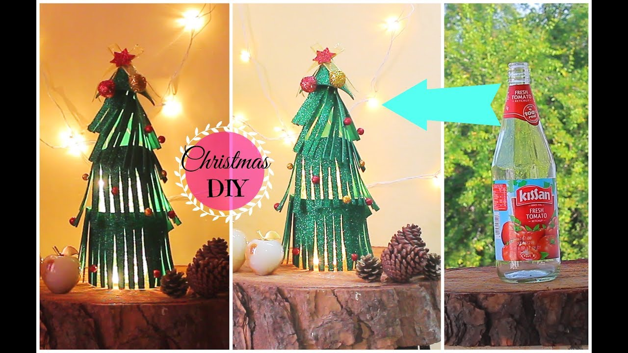 Quick and easy christmas decoration ideas using waste materials diy home decor youtube Christmas home decoration youtube