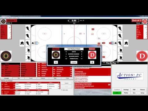 Action PC Hockey 10 30 2015 Ottawa at Detroit