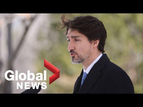 Coronavirus Outbreak: Trudeau Announces 30,000 Ventilators To Be Made In Canada | FULL