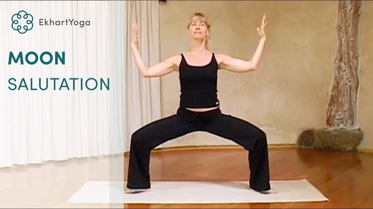Yoga The Moon Salutation Youtube