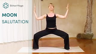 Yoga, the Moon Salutation