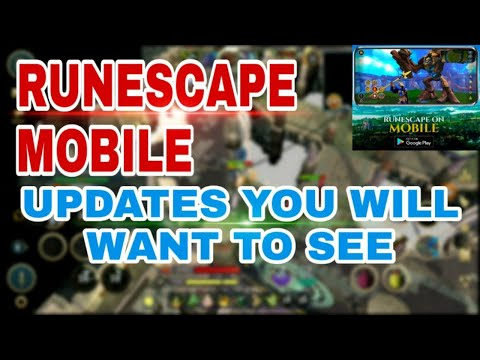 RuneScape 3 Mobile Updates YOU Will Want To See! RuneScape Mobile