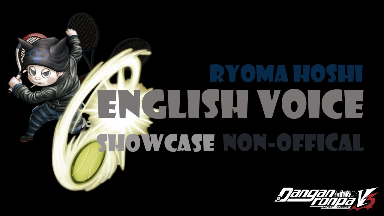 Ryoma Hoshi English Voice Showcase Not Official Youtube Hajime hinata & izuru kamukura. ryoma hoshi english voice showcase not official