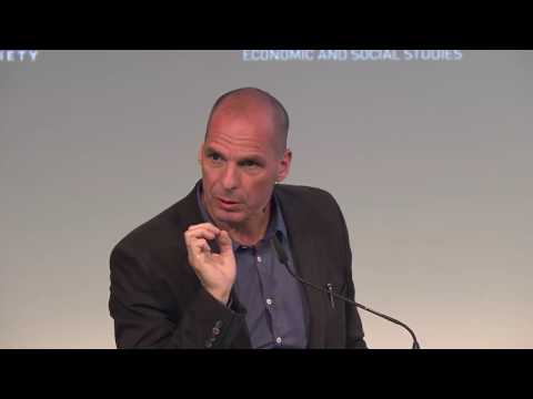 Yanis Varoufakis  Basic Income is a Necessity