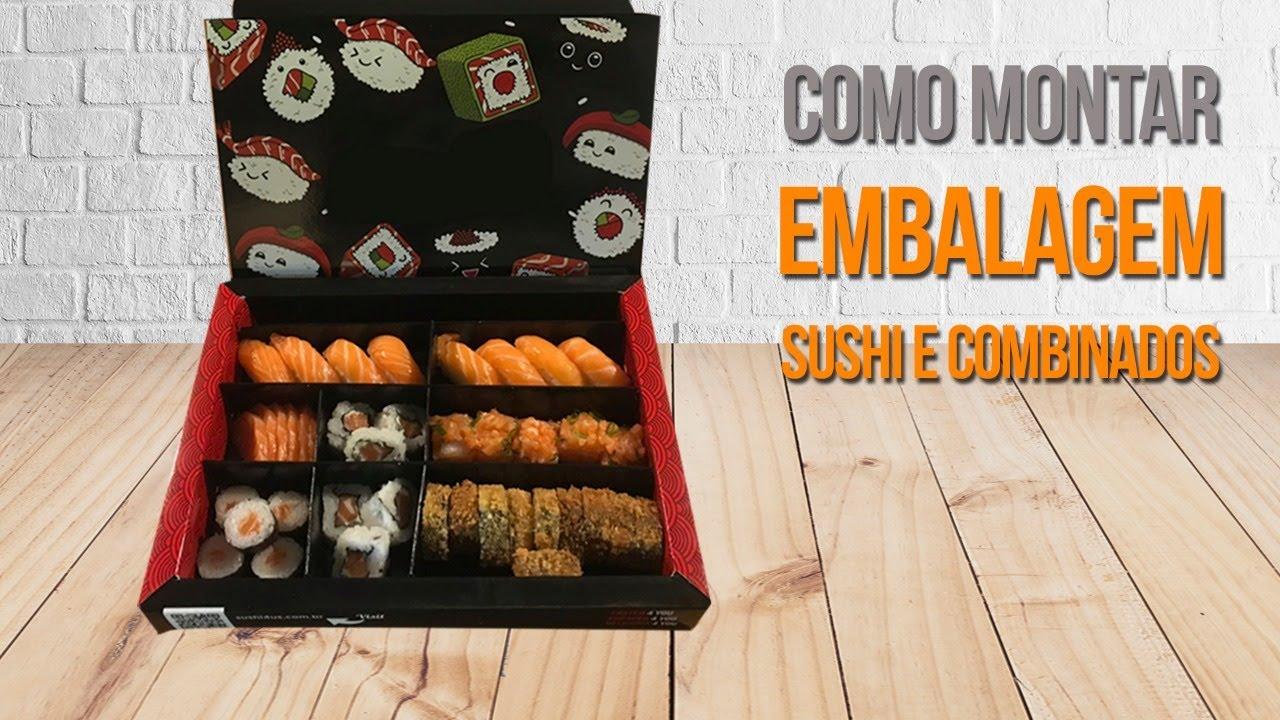 embalagens personalizadas comida japonesa