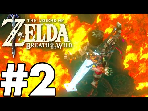 Divine Beast VAH RUDANIA!  The Legend Of Zelda: Breath Of The Wild  Gameplay Part 2 BOSS FIGHT