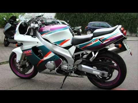 Fzr 600 1994 youtube for Yamaha fzr fairings