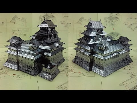Metal Earth Build - Himeji Castle