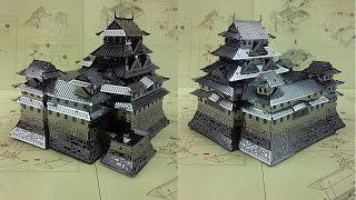 Metal Earth Build - Himeji Castle