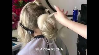 Свадебные и вечерние причёски на курсах Ларисы Реча