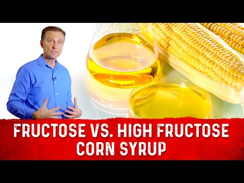 Fruit Fructose vs. High Fructose Corn Syrup (HFCS)