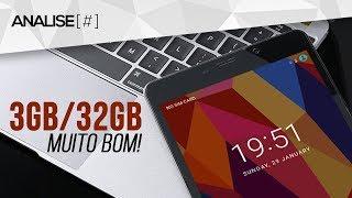 3GB de RAM + 32GB por R$441! Barato, bom e roda tudo que você quiser! - CUBE Free Young X5 ANÁLISE