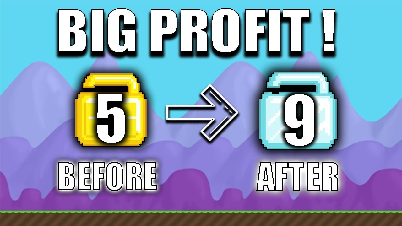 Best How To Get Rich Fast Easy In 2020 Growtopia Profit