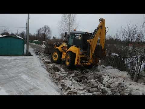 Аренда экскаватора погрузчика московская область солнечногорский район