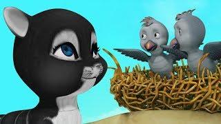 Bengali Stories for Kids - The Cunning Cat   Infobells