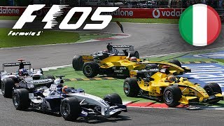 F1 2005 PS2 Career - Part 4 Italian Grand Prix