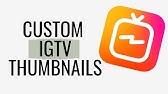 Making IGTV & YouTube Thumbnails in Canva   IGTV - YouTube