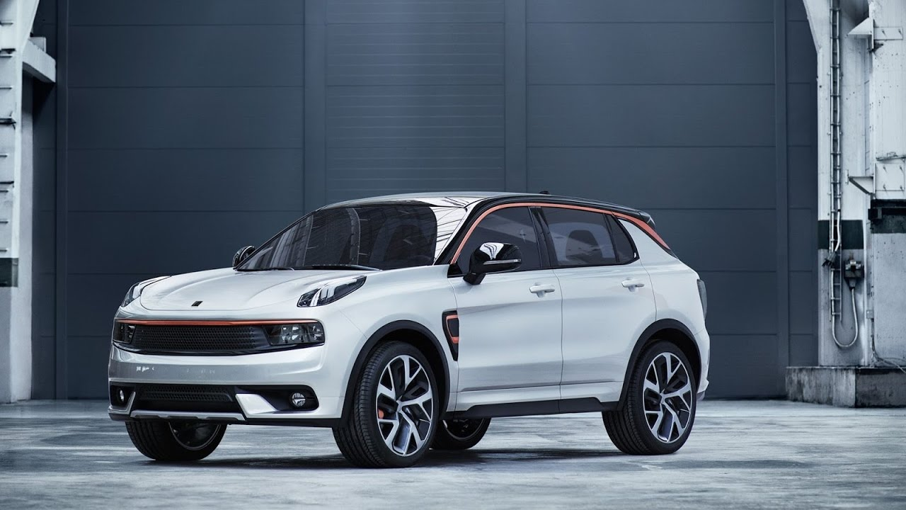 2018 Brand New Geely Lynk Co 01 Unveiled Youtube