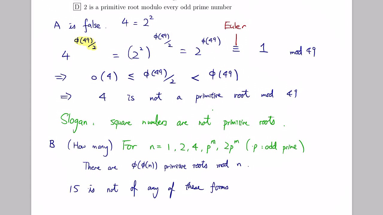 Kwok-Wing Tsoi's Homepage - Intro  Number Theory 2018