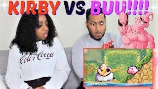 Kirby VS Majin Buu | DEATH BATTLE! REACTION!!!