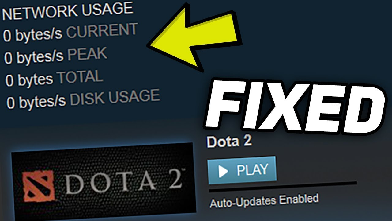 Fix: Steam Download Speed Drops to 0
