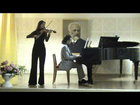 Rolf Lovland - Song from a secret garden for violin & Piano
