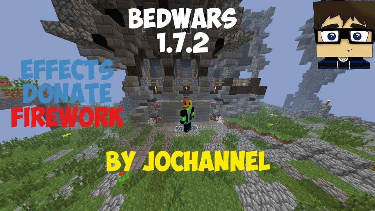 Сервера с bed wars 1.7.2