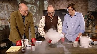 How To Make A Comet | Dara Ó Briain's Science Club | Brit Lab | BBC